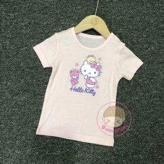 💢現貨💢出口日本Hello Kitty短袖衫[80~90cm]