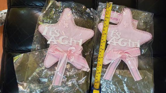 星星禮物裝飾 for Baby Girls BB女