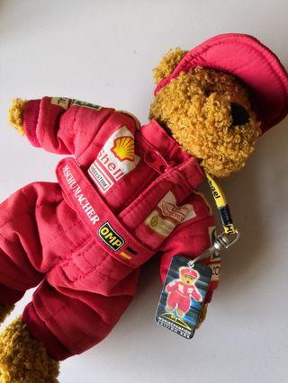 Michael Schumacher Ferrari Official Bear
