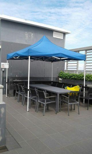 FOLDABLE SHELTER GAZEBO TENT PREMIUM MODEL