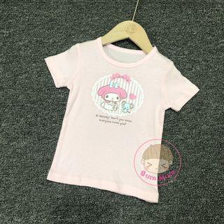 💢現貨💢出口日本Melody短袖衫[80~95cm]