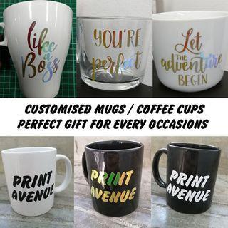 Customised Mugs Cup