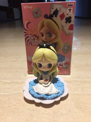 🚚 Disney Alice In Wonderland Q Posket Alice x Kunika