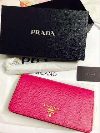 PRADA Mini Bandoliera With Chain