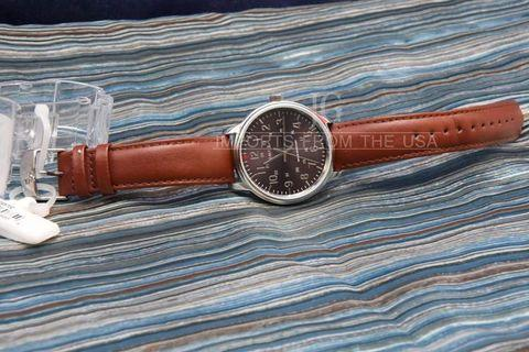 Timex watch for men Genuine leather