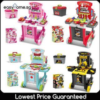 Trolley 3in1 008-930 / 008-927 / 008-928/ 008-929 Play set