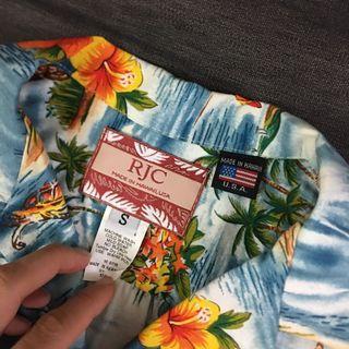 RJC Hawaiian shirt made in Hawaii!!!!
