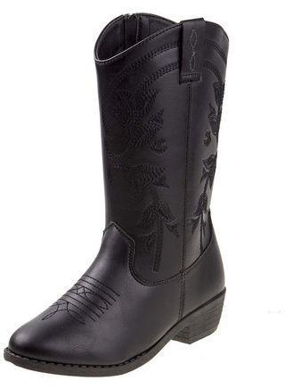 Kensie girl cowboy boots- size 4 big girl