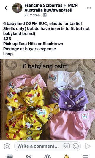 Babyland cloth nappies