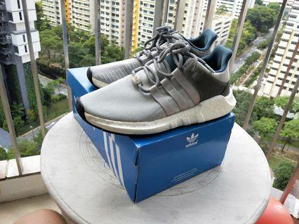 """Adidas Originals EQT 93/17 Boost """"Welding Pack"""" (Grey/Green)"""