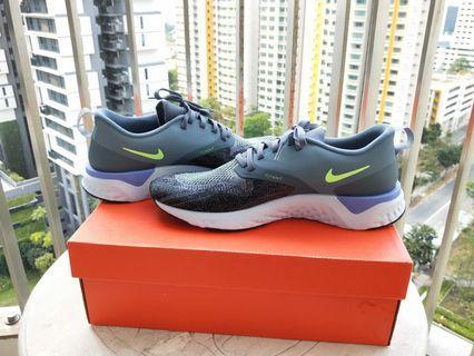 Nike Odyssey React Flyknit 2 (Hydrogen Blue/Sapphire Green/Grey)