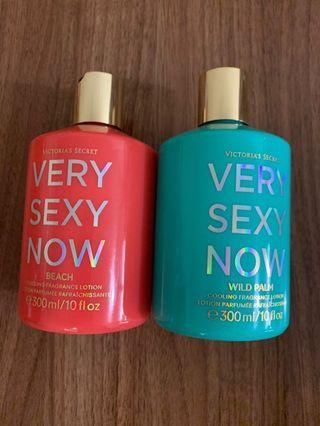 victoria secret very sex now 系列香水bodylotion