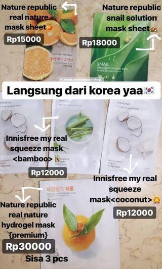 Masker murah original