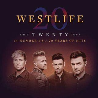【蝕放】Westlife The Twenty Tour 26/7 澳門站$1088門券