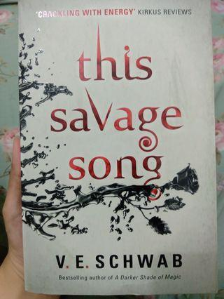 This Savage Song - V.E.Schwab