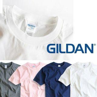 GILDAN 180克純綿T-shirt