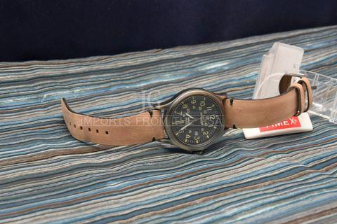 Timex Watch for men EXPEDITION Authentic galing usa GENUINE LEATHER