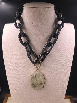 出口歐美 人造首飾 -  頸錬 (EXPORT Europe / USA Fashion Jewellery Necklace) About 45cm with extension chain 2.5m