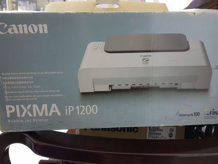 Canon Bubble Jet Printer Pixma iP1200