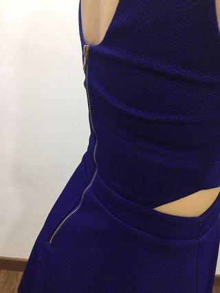 MDS Blue dress