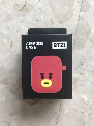 <INSTOCK> BT21 Tata Face AirPods Case