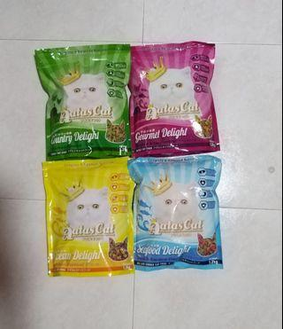 Aatas Cat Dry Food 1.2 kg ~ Assorted Flavours