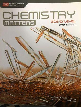 Chemistry Matters 2nd Edition pure chemistry textbook