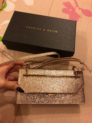 Charles and Keith Wallet on strap