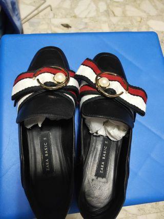 Zara basic Leather shoes