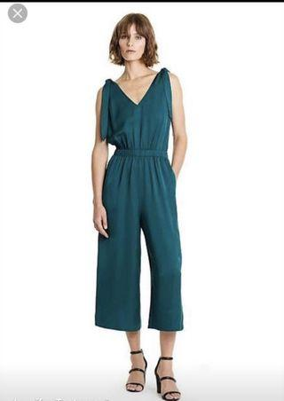 Country Road Jumpsuit forest green size 10 worn once