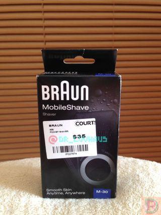 Braun Pocket Shaver - MobileShave M-30