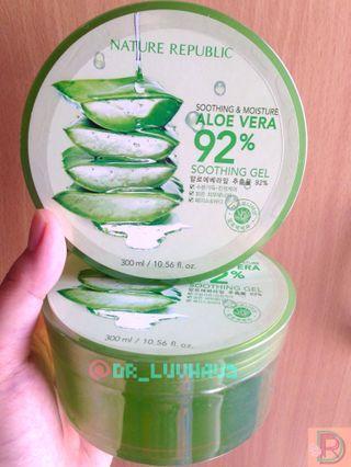 Bundling: 2 Nature Republic Soothing Gel - Aloe Vera