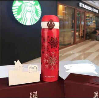 Starbucks Christmas Thermos ( Limited Edition)
