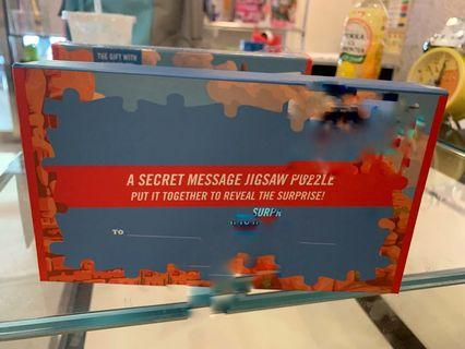 🚚 Puzzle with hidden romantic message