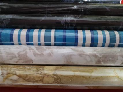New embossed printing wallpaper