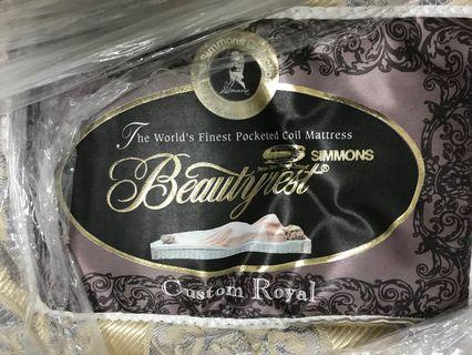🚚 Display Simmons King Size Beauty Rest Mattress