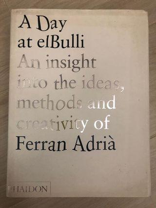A Day at ElBulli book