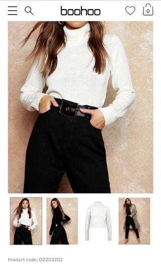 Boohoo BNWT Turtleneck Knit