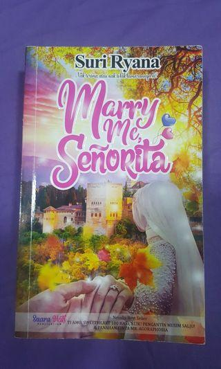 Novel Marry Me Senorita