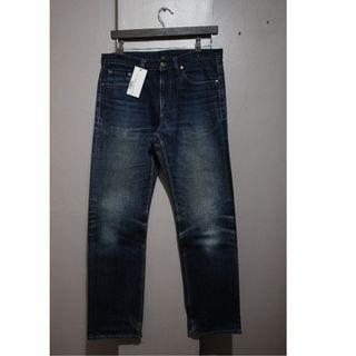 BEAUTY & YOUTH BY UNITED ARROWS INDIGO DENIM NON SELVEDGE