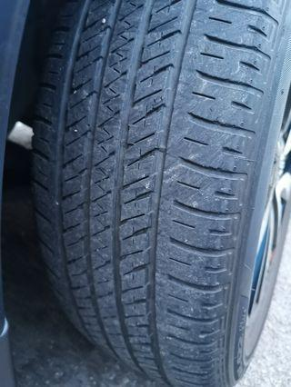19 inches Bridgestone ECOPIA H/L 422Plus (XTrail Stock TYRES) 225/55/19, 4 pcs for $200