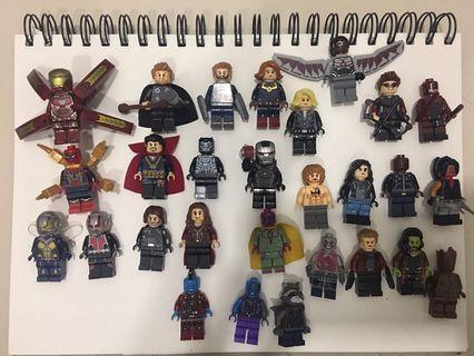 Lego Compatible - Marvel Heroes Avengers Bundle