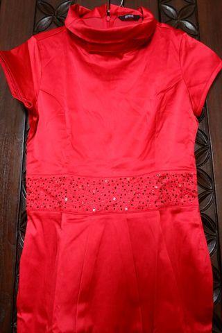 Dress Merah manik eprise