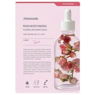 Mamonde Flower Lab Essence Mask Rose Moisturizing