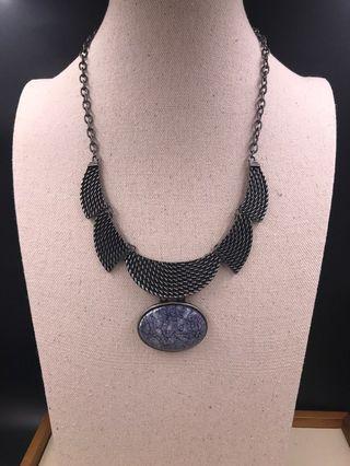 出口歐美 人造首飾 -  頸錬 (EXPORT Europe / USA Fashion Jewellery Antique Necklace) About 50cm with extension chain 3cm