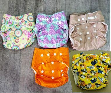 Cloth diapers+insert