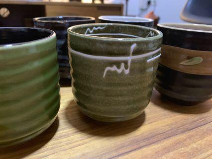 BN Pottery tea tumbler set