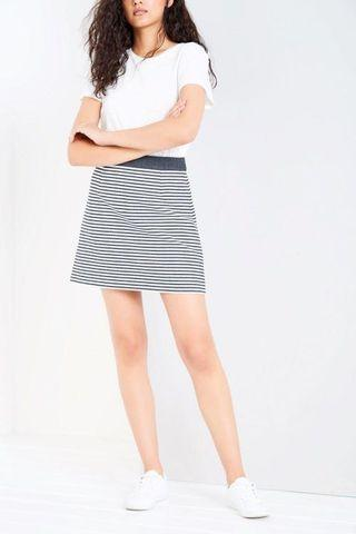 🚚 Jack Wills Striped Skirt