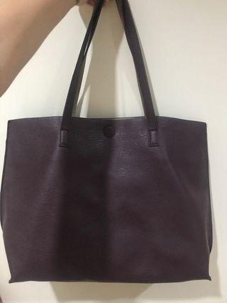 Genuine Leather Reversable Bag