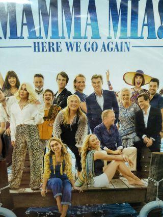 🚚 Mamma Mia!  Here we go again dvd
